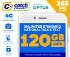 Catch Connect 365 Day Mobile Plan - 120GB 1