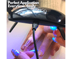 Mitty - Gel-Me Nail Extension System. Almond Short 4