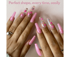 Mitty - Gel-Me Nail Extension System. Coffin Long 3