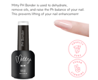 Mitty - Gel-Me Nail Extension System. Almond Medium 7