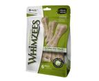 Whimzees Rice Bone Dental Care Dog Treat Value Bag Medium Large 9 Pack 1
