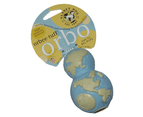 Planet Dog Orbee Tuff Orbo Pup [Colour: Blue] [Size: Large] 1