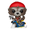Funko POP! Marvel Holiday Guardians Of The Galaxy Vol 2 #531 Rocket On Sled 3