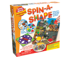 Spin-A-Shape - Learning Game - Identify Geometric Shapes 1