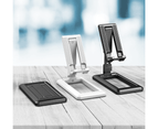 WIWU XM Foldable Phone Holder Stand Universal Mobile Phone Desk Stand Mount For iPhone iPad Samsung Xiaomi-Black 6