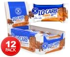 12 x Aussie Bodies ProteinFX Lo Carb Mini Protein Bars Salted Caramel Fudge 30g 1