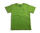 KIDS PLAIN T SHIRT Children's Child 100% COTTON Boys Girls Basic Blank Tee Top - Lime 1