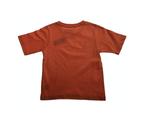 KIDS PLAIN T SHIRT Children's Child 100% COTTON Boys Girls Basic Blank Tee Top - Orange 2