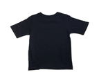 KIDS PLAIN T SHIRT Children's Child 100% COTTON Boys Girls Basic Blank Tee Top - Navy 2