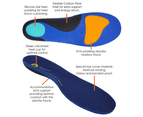 Archline Active Orthotics Full Length Arch Support Medical Pain Relief - For Hiking & Outdoors 2