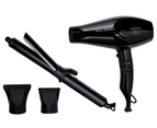 Cabello Pro 3900 Hair Dryer + Chic Curling Tong 3