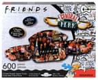 Friends Central Perk 600-Piece Double-Sided Jigsaw Puzzle 2
