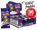 36 x Cadbury Giant Milk Choc Freddo 35g 1