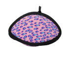 Ultimate Odd Ball Pink Leopard Tuff Dog Toy for Medium & Large Dogs by Tuffy 1