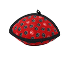 Ultimate Odd Ball Red Paw Tuff Dog Toy for Medium & Large Dogs by Tuffy 1