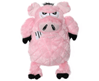 Mighty Angry Animals Pig Tuff Dog Toy for Medium & Large Dogs by Tuffy 1