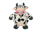 Mighty Angry Animals Mad Cow Tuff Dog Toy for Medium & Large Dogs by Tuffy 1