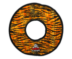 No Stuff Mega Ring Tiger Tuff Dog Toy for Large & Extra Large Dogs by Tuffy 1