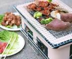 Lenoxx Hibachi Tabletop BBQ Grill - Cream 5