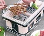 Lenoxx Hibachi Tabletop BBQ Grill - Cream 1