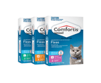 Comfortis Green - For Cats 5.5-11.2kg - 3 pack 2