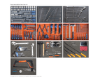 Sp Tools Kit 371Pc Metric Sae Tool Box 7 Drawer 30%Thicker Steel Cabinet Sp50215 3