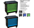 Sp Tool Box Trolley Cabinet Sp40126 7 Drawer Stackable Storage Blue Toolbox 2