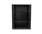 RAPIDLINE GO TAMBOUR CUPBOARD 5 SHELVES 900W x 1981H x 473mmD Black 4