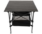 Folding Collapsible Camping Table Caravan RV Heavy Duty Steel & Aluminium 1