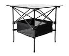 Folding Collapsible Camping Table Caravan RV Heavy Duty Steel & Aluminium 4