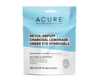 Acure Detox & Depuff Charcoal Lemonade Under Eye Hydrogels (2 Eye Gels) 1