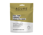 Acure Foil Time Firming Gold Foil Mask (1 Single Use Mask) 1