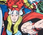 Marvel Avengers 152x127cm Comic Polar Fleece Throw 2