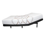 Solace Sleep Adjustable Bed: with Copper Memory Foam Mattress, Pain Relief for neck and back - Grey 8
