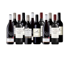 Aussie Everyday Value Mixed Shiraz Red Wine Dozen - 12 Bottles 1