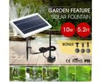 10W Solar Powered Fountain Water Pump for Outdoor Garden Pond Pool 2