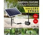 50W Solar Powered Fountain Water Pump for Birdbath Fish Pond Garden Pool 2
