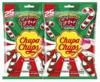 2 x Chupa Chups Lollipops Candy Cane 300g 1