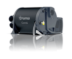 Truma Caravan Gas Heater & 240V Electric Hot Water Heater Combi 2E Black Cowl 1