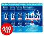 4 x 110pk Finish Powerball All In 1 Dishwashing Tabs 1