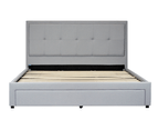 Bed Frame with Front Drawer in Super King, King, Queen - Brooklyn 4