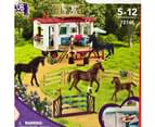 Schleich Secret Horse Training at the Horse Club Caravan Playset 72141 2