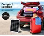 12V 10W Solar Panel Kit MONO Caravan Regulator RV Camping Home Power Charging 8