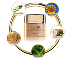GLO24K - Recharging 24k PM Night Moisturiser Cream 50ml 2