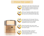 GLO24K - Timeless 24k Anti-Aging Gold Mask 50ml 5