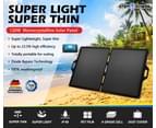 ATEM POWER 12V 120W Folding Solar Panel Blanket Kit Mono Camping Caravan Portable 2