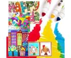 WASHABLE MARKERS -BABY ROO 48 COLORS 3
