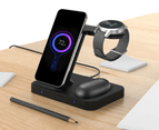 Orotec Multi Samsung Wireless Charging Station 3-in-1 Wireless Charging Port plus 1 USB Port (4-in-1) 2