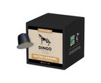 10 x Dingo SALTED CARAMEL Flavoured Organic Coffee Pods for Nespresso - Compostable and Biodegradable 1