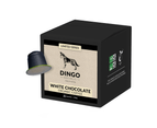 10 x Dingo WHITE CHOCOLATE Flavoured Organic Coffee Pods for Nespresso - Compostable and Biodegradable 1